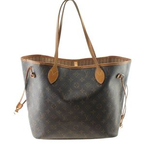 Louis Vuitton M40156 Neverfull MM Tote 166112